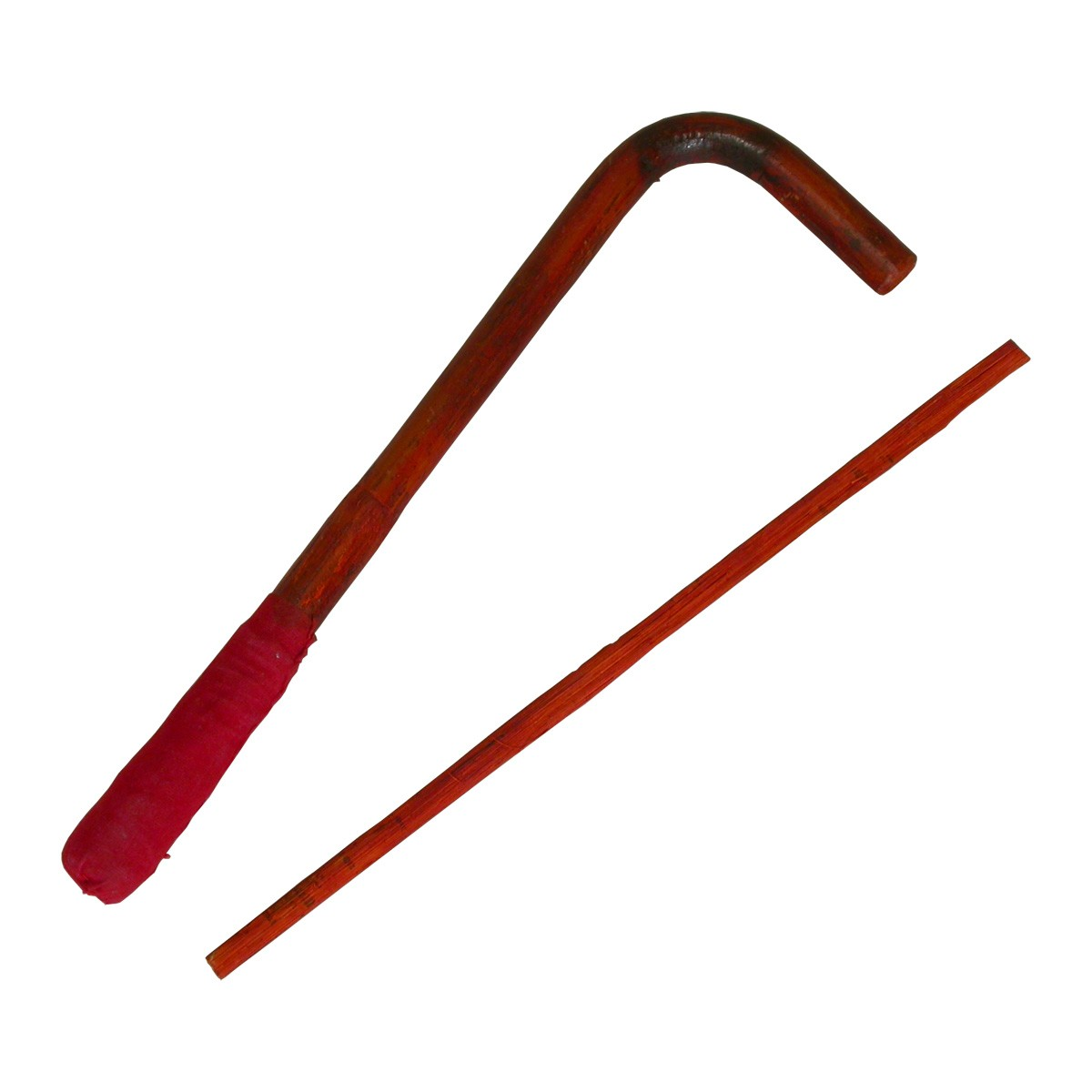 Mid-East Curved Leather Beater and Cane Switch