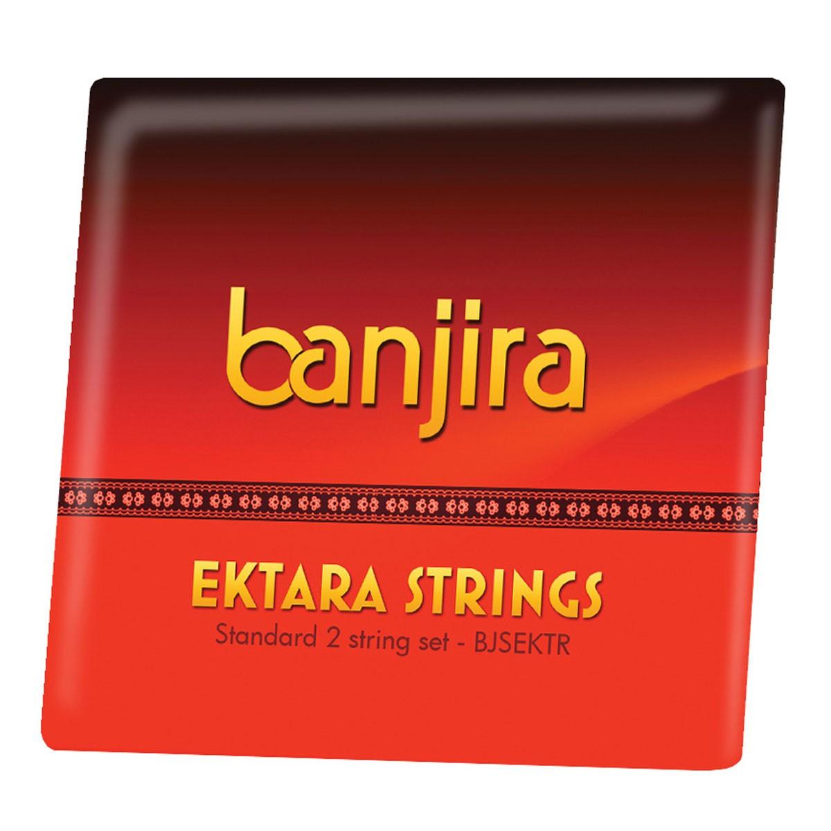 banjira Ektara 2-String Set Loop Ends