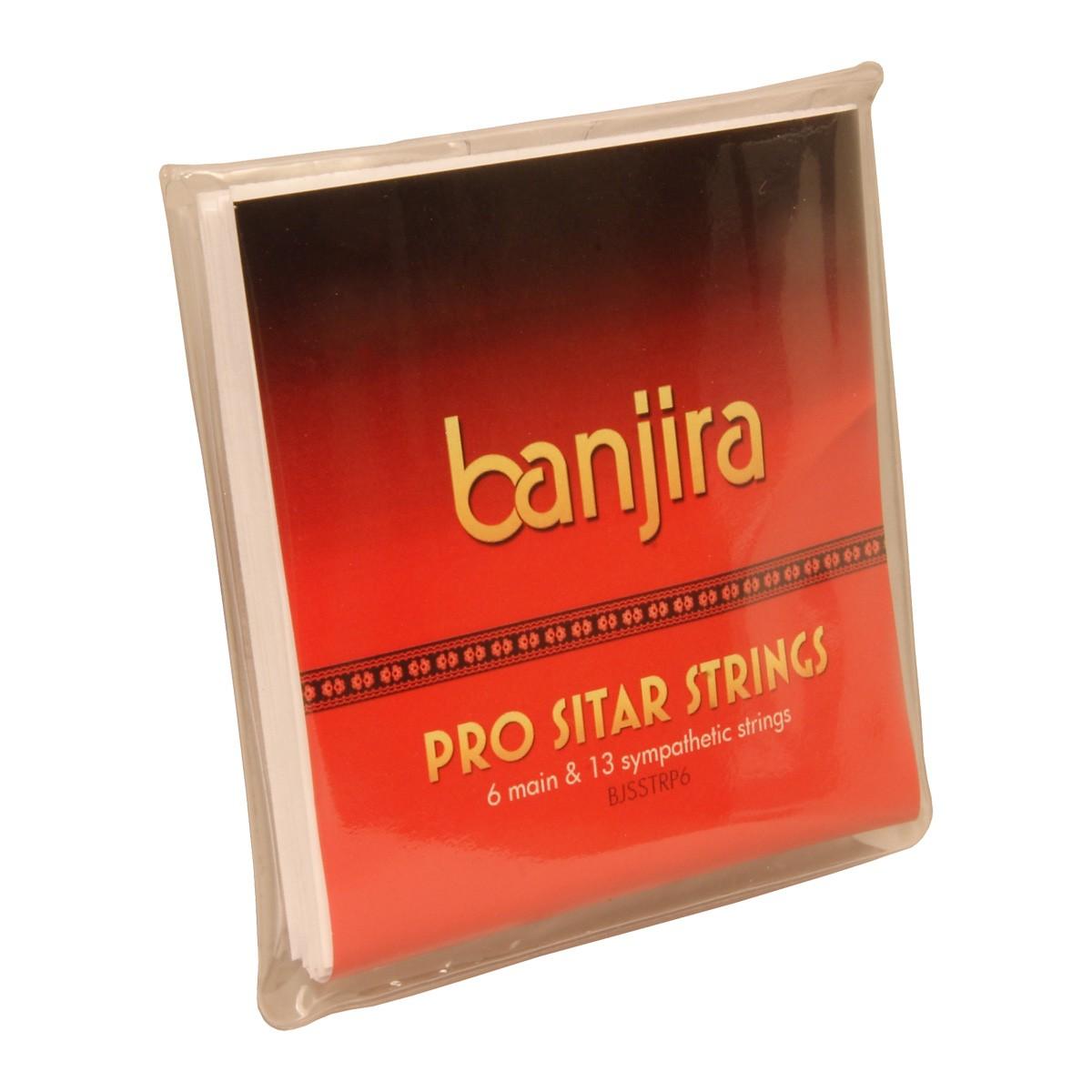 banjira Pro 6-String Sitar String Set
