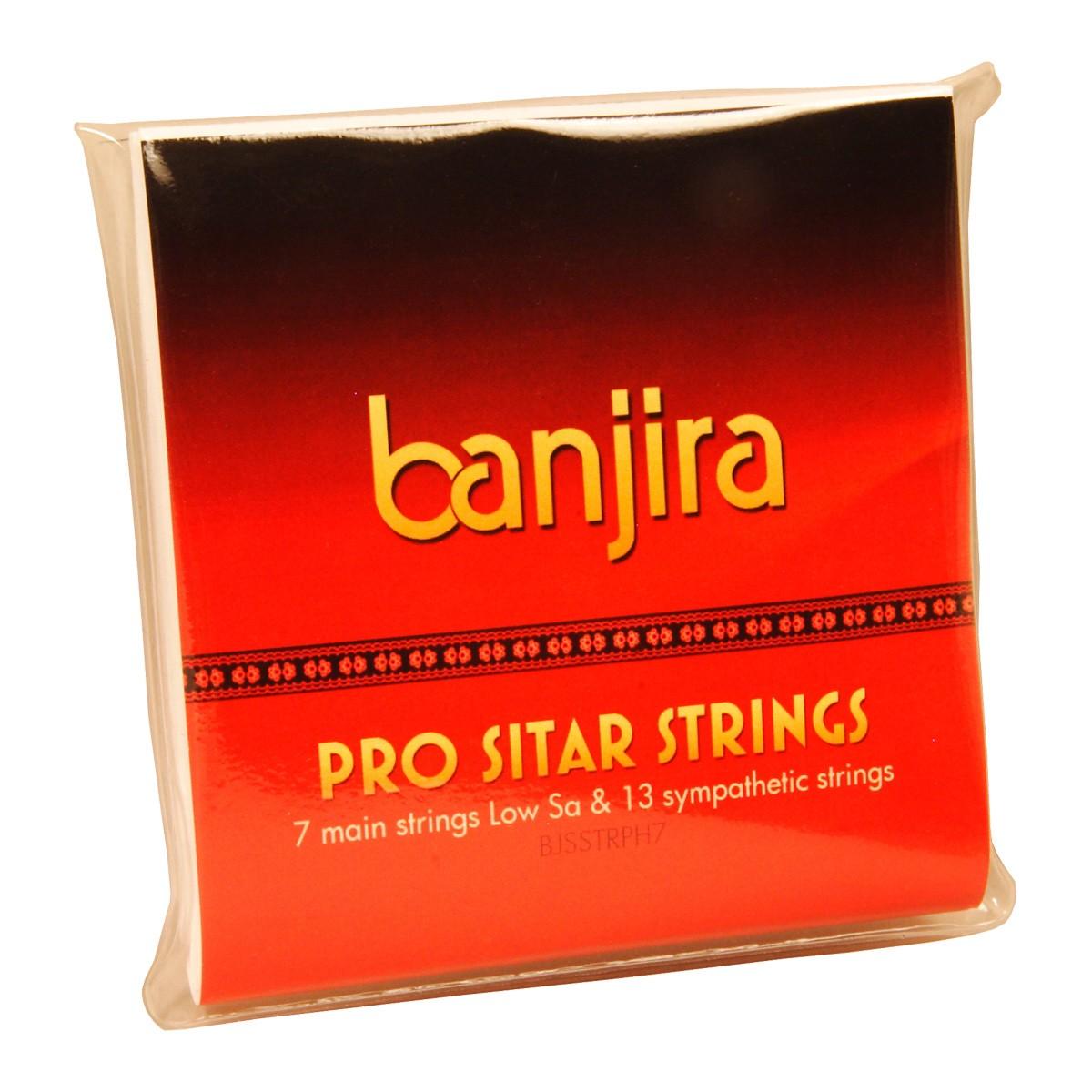 banjira Pro 7-String Sitar String Set - Heavy