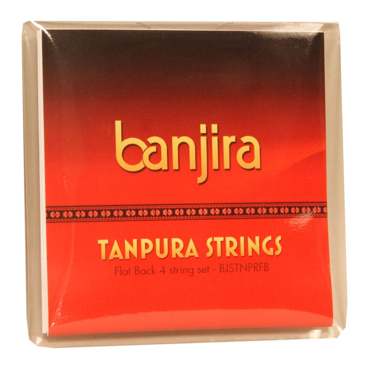 banjira Flat Back Tanpura String Set