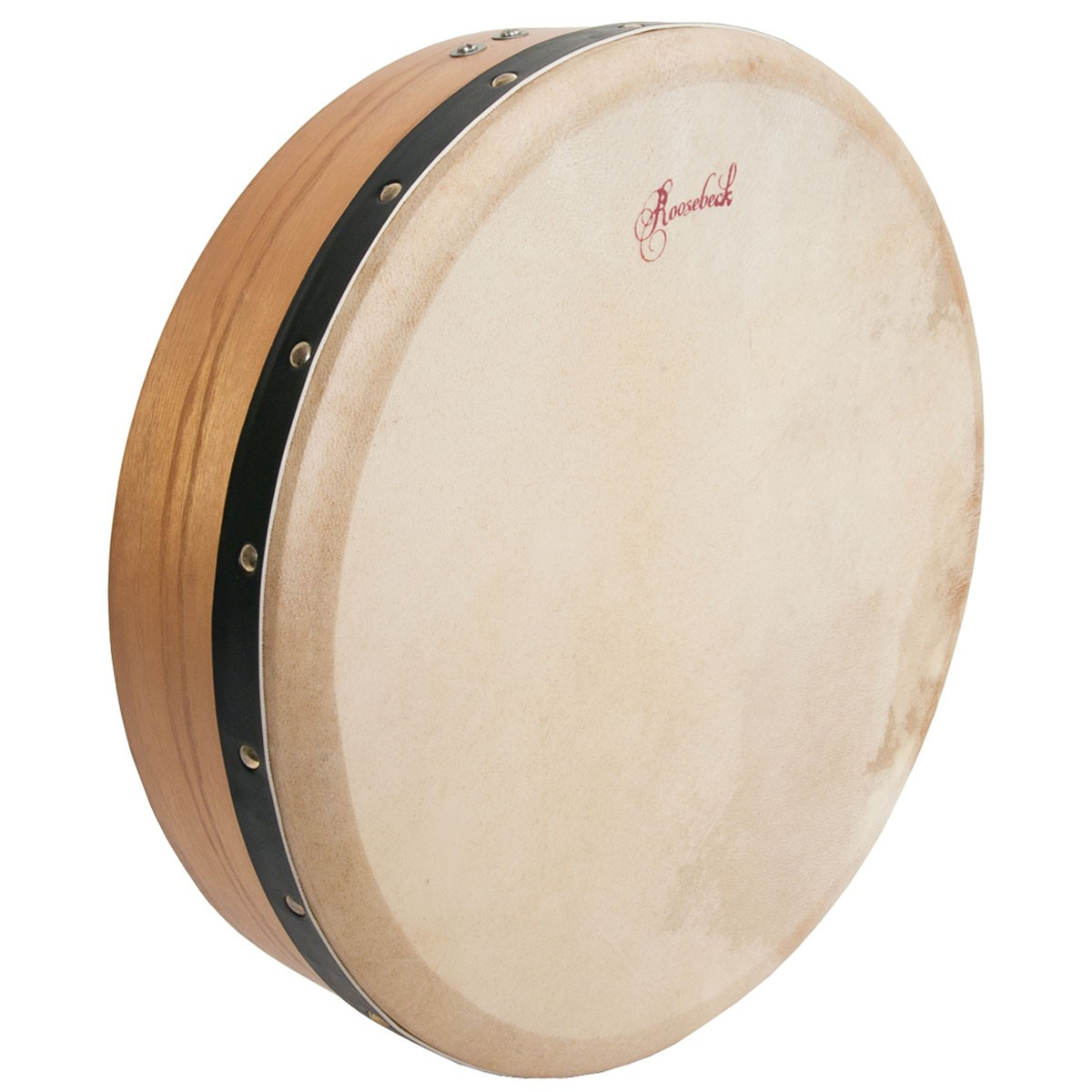 Roosebeck Pretuned Mulberry Bodhran Single-Bar 14' x 3.5'