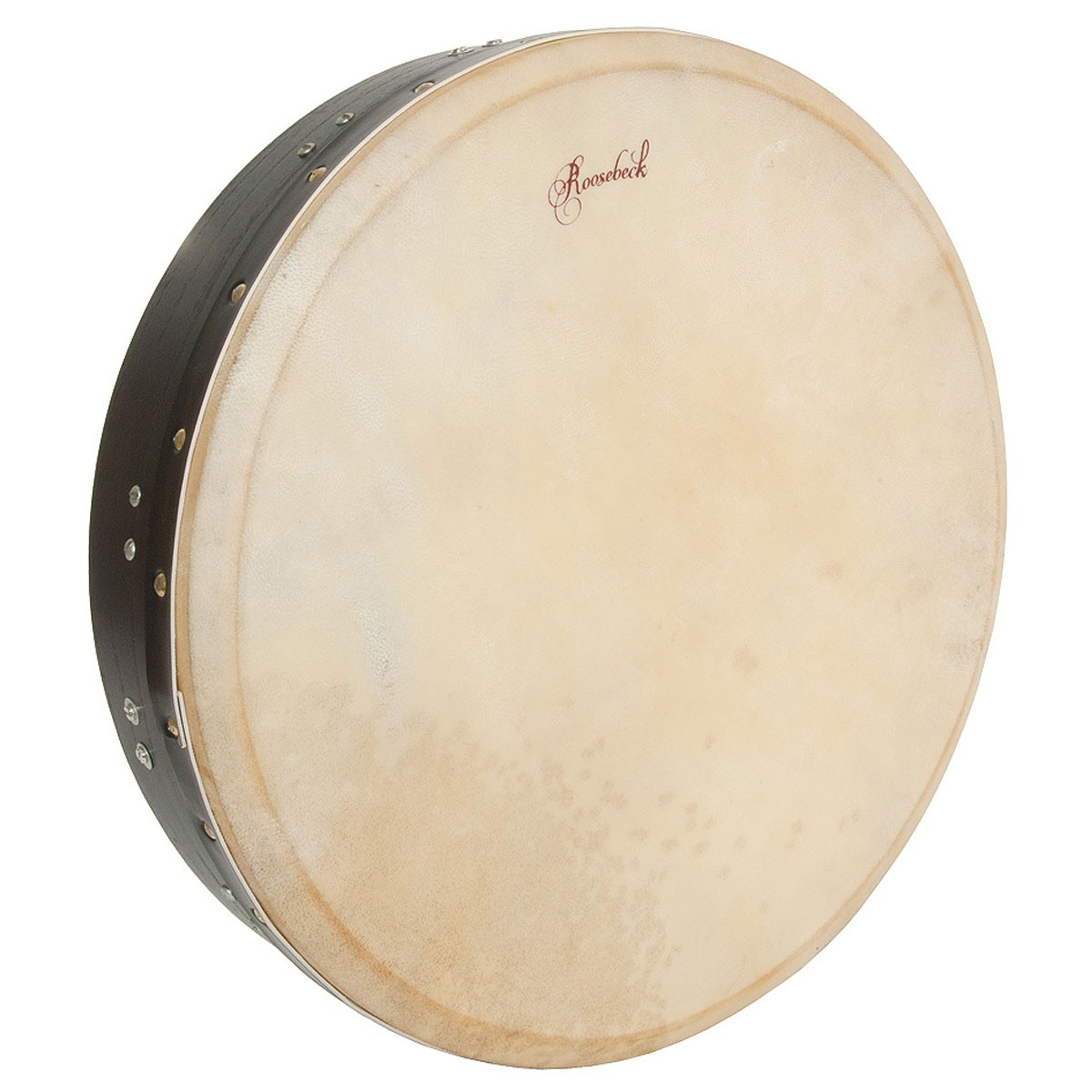 Roosebeck Tunable Mulberry Bodhran T-Bar 16'x3.5' - Black