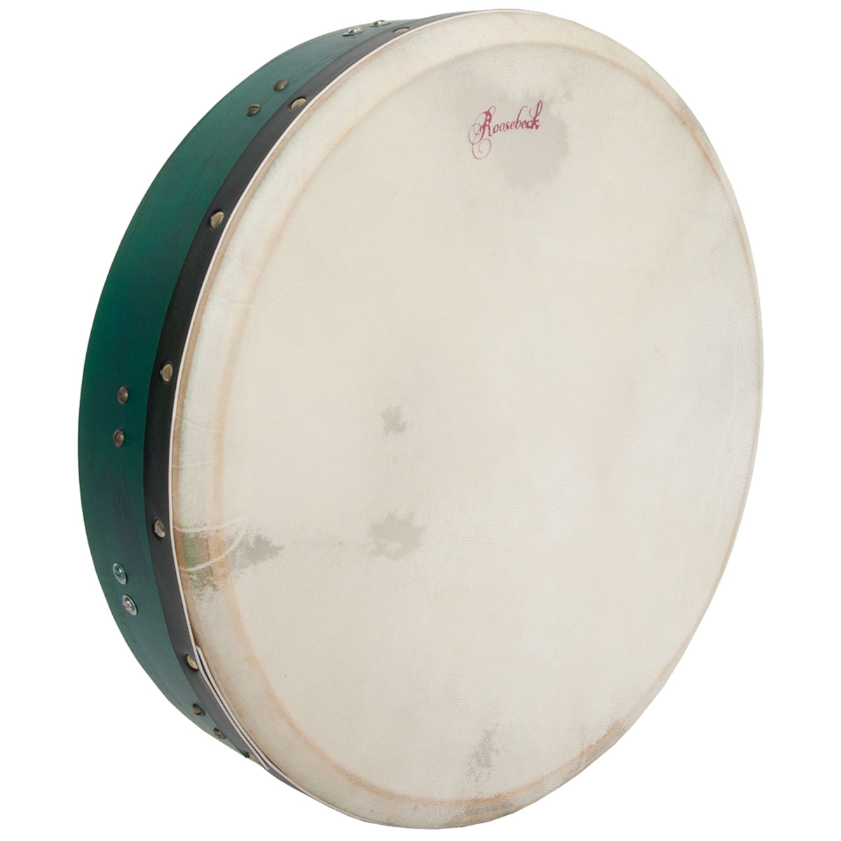 Roosebeck Tunable Mulberry Bodhran T-Bar 16'x3.5' - Green