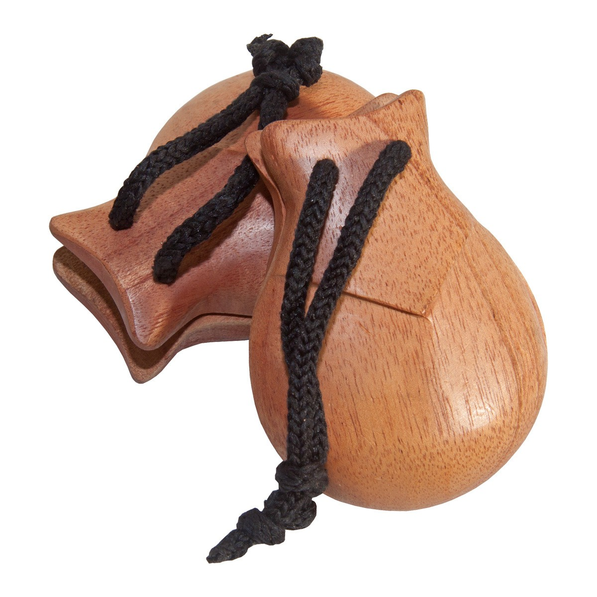 DOBANI Red Cedar Castanets 2.63' - Pair *Blemished