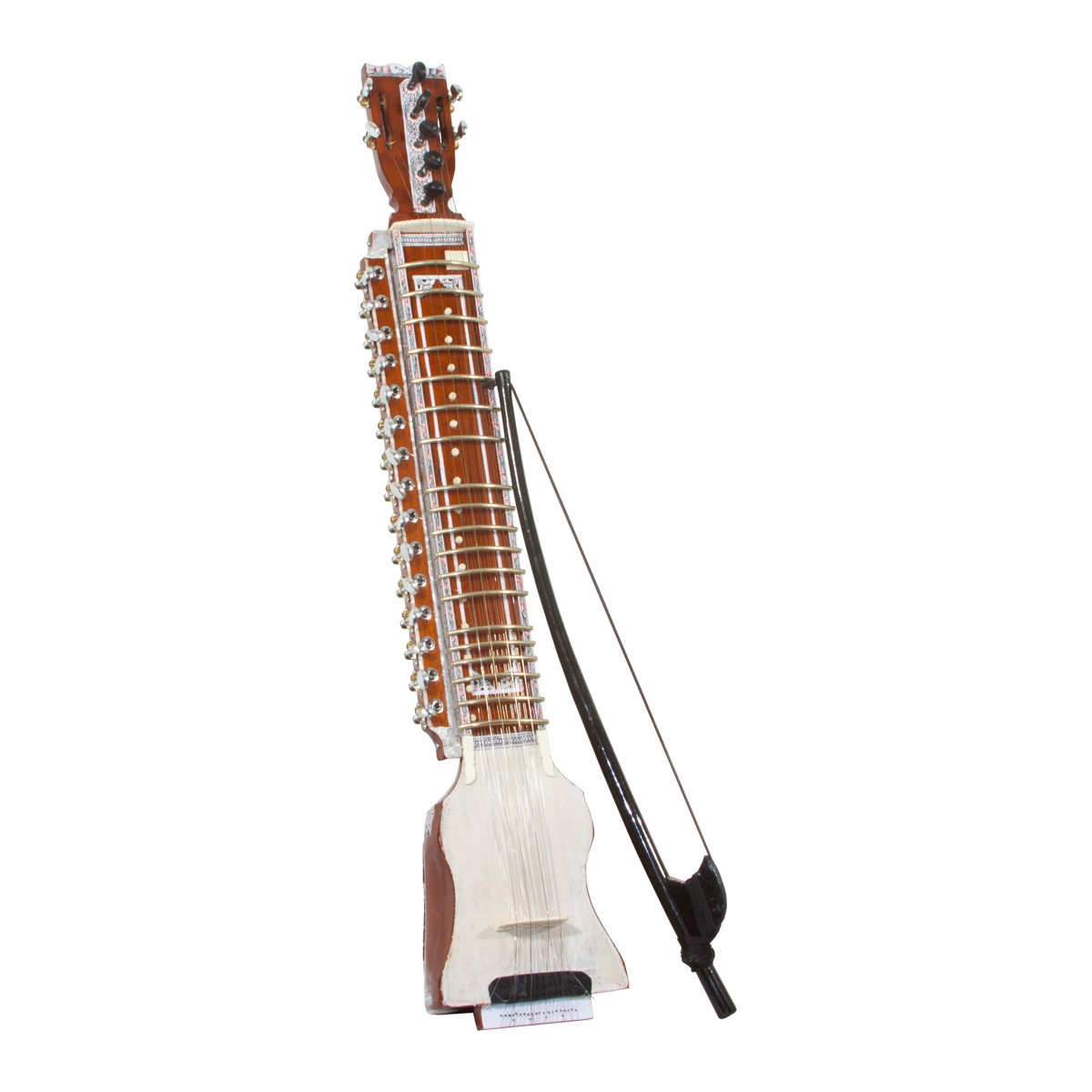 Sardar Pro Toon Wood Dilruba w/ Bow in Hard Case 40'