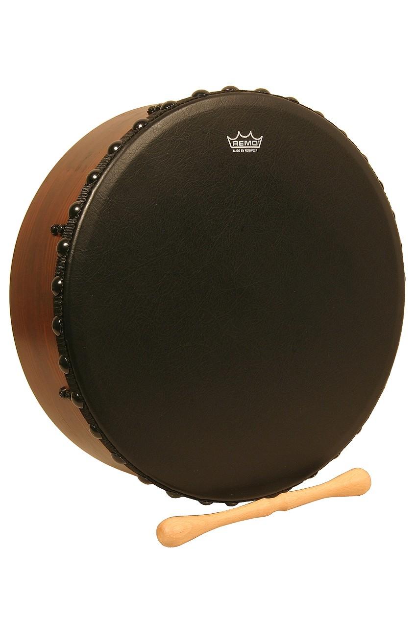 Remo Irish Bodhran w/ Acousticon Shell and Bahia Bass Head, 14'x4.5'