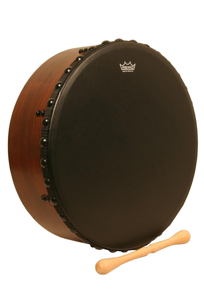 Remo Irish Bodhran w/ Acousticon Shell and Bahia Bass Head, 16'x4.5'