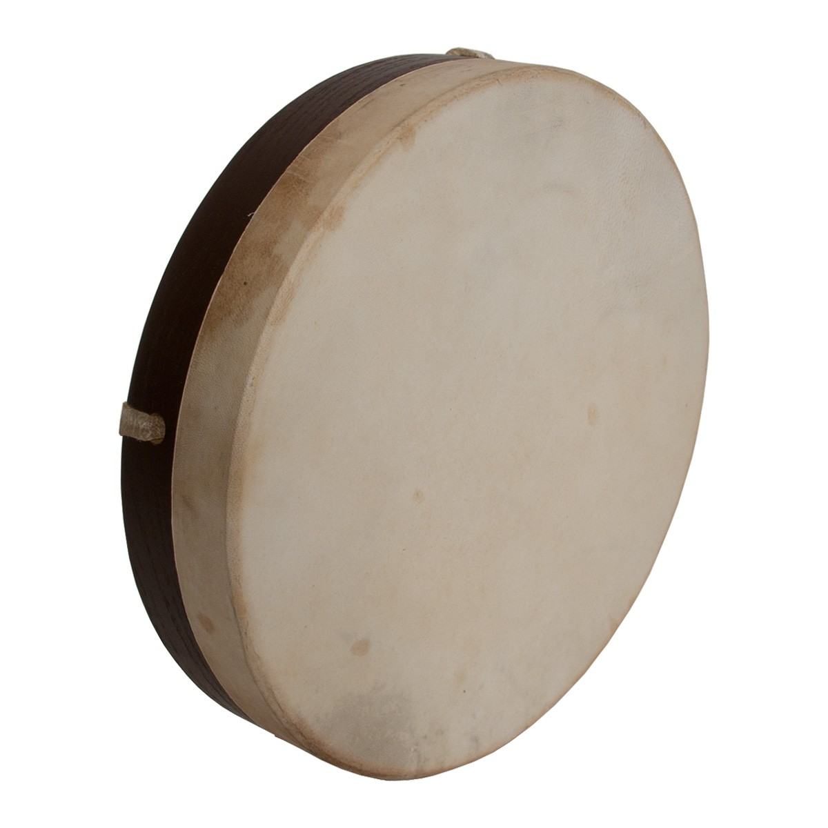 DOBANI Pretuned Goatskin Head Wood Frame Drum w/ Beater 10'x2'