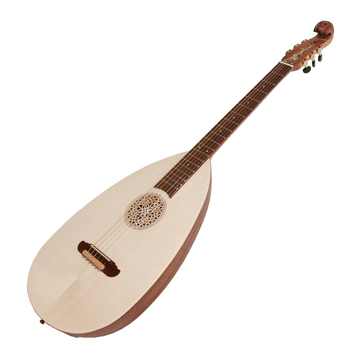 Roosebeck Lute-Guitar Steel 6-String Variegated