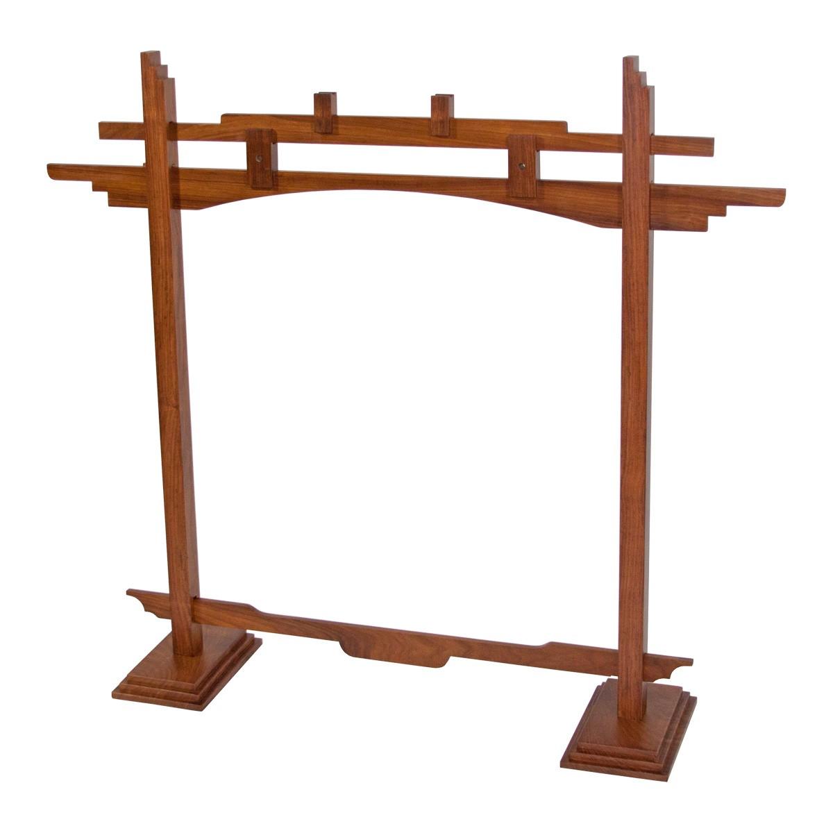DOBANI Pedestal Sheesham Gong Stand 26'