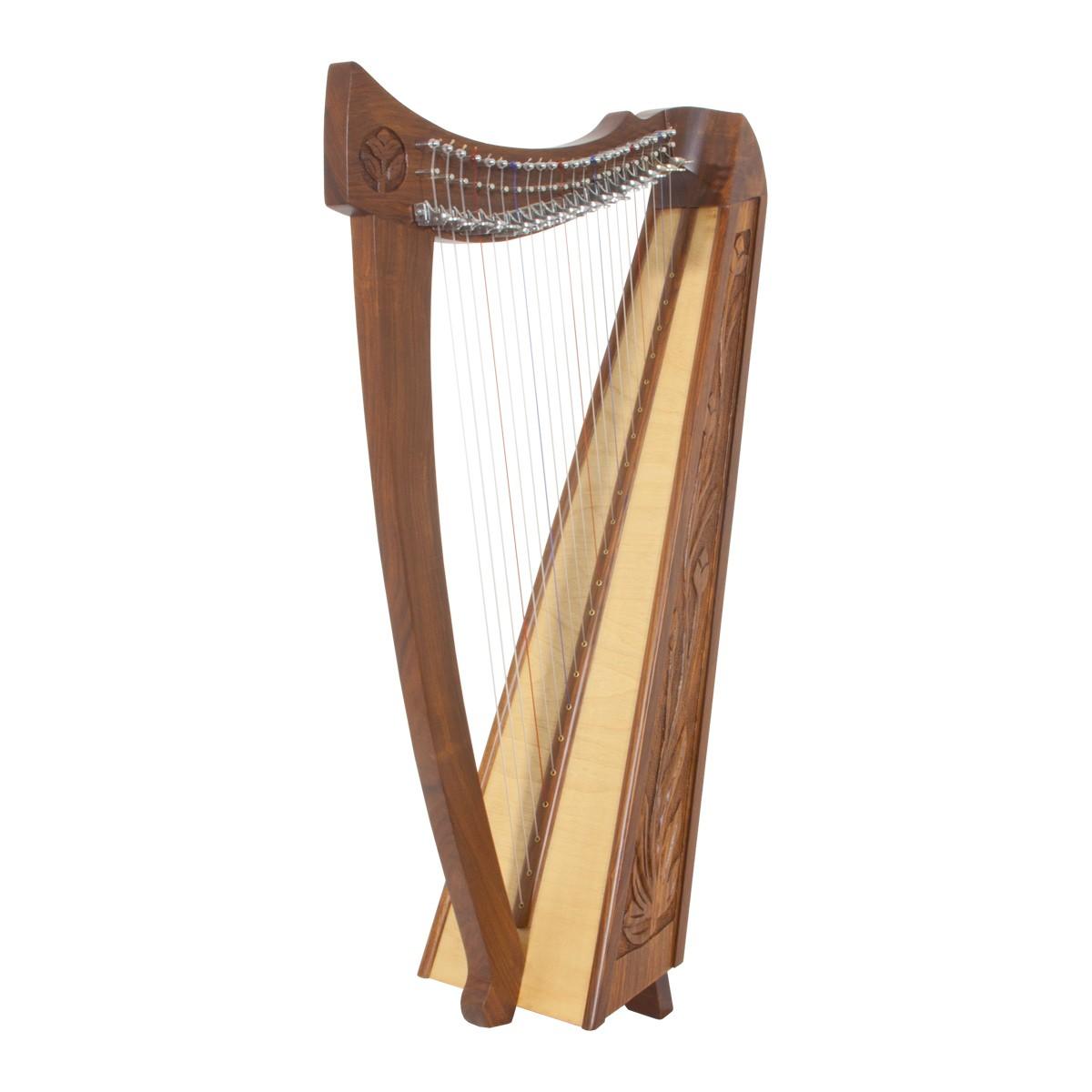 Roosebeck Balladeer Harp 22-String Zachary Taylor