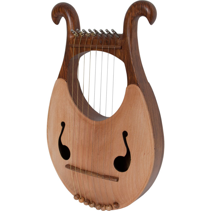 Mid-East Lyre Harp 8-String