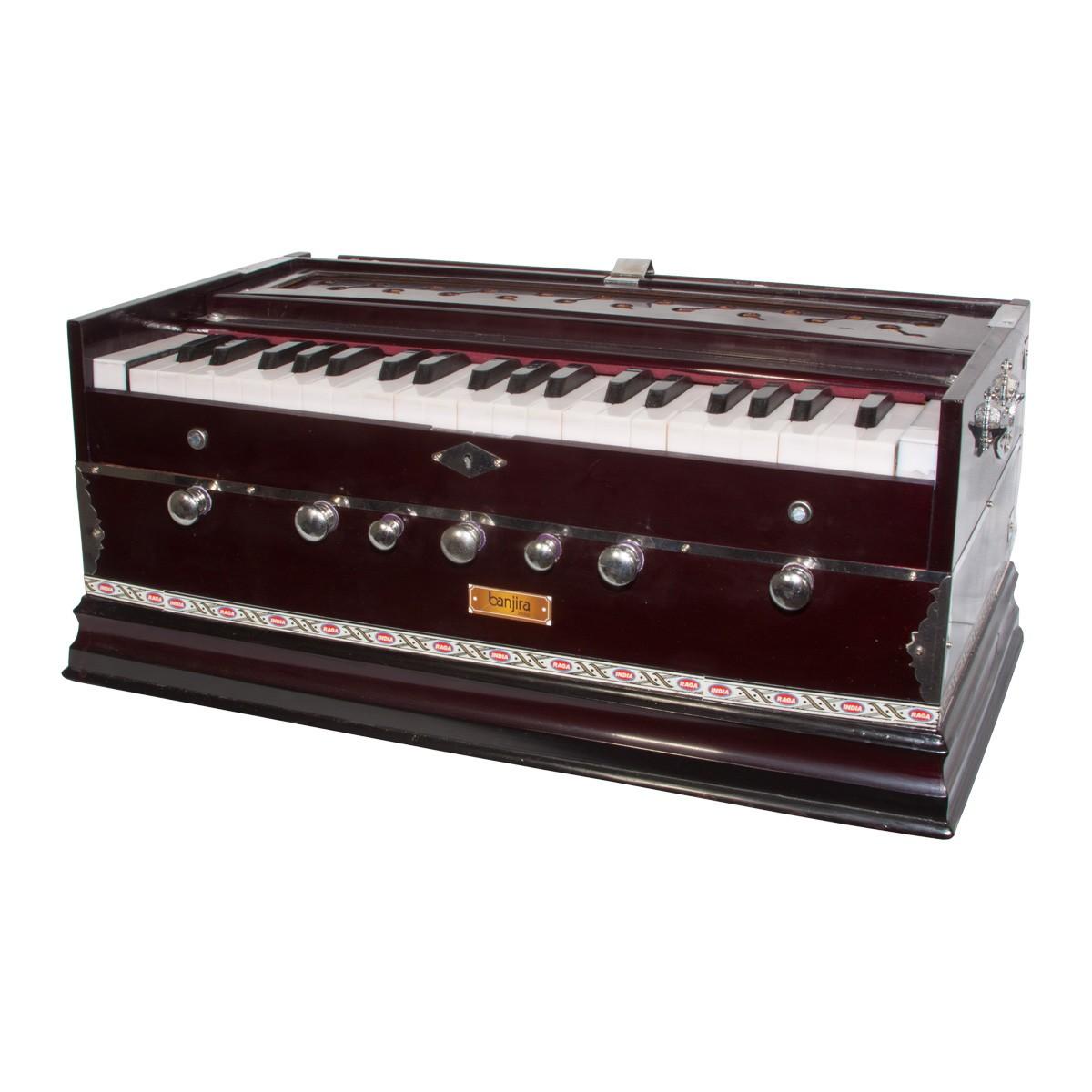 banjira Standard Harmonium 7-Knob A=432 - Dark *Blemished