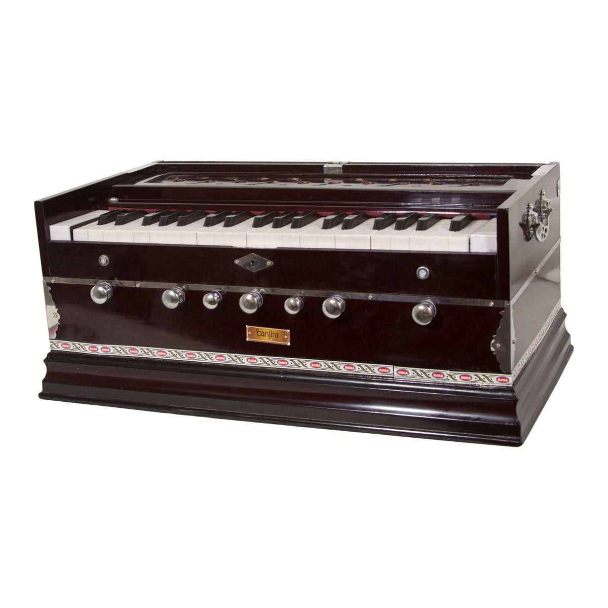 banjira Standard Harmonium 7-Knob - Dark *Blemished