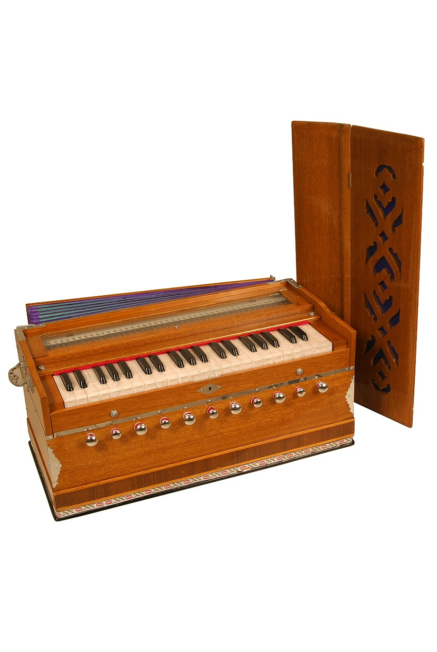 banjira Deluxe Harmonium 11-Knob
