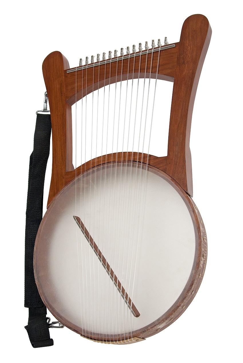 Mid-East Nevel Harp w/ Gig Bag