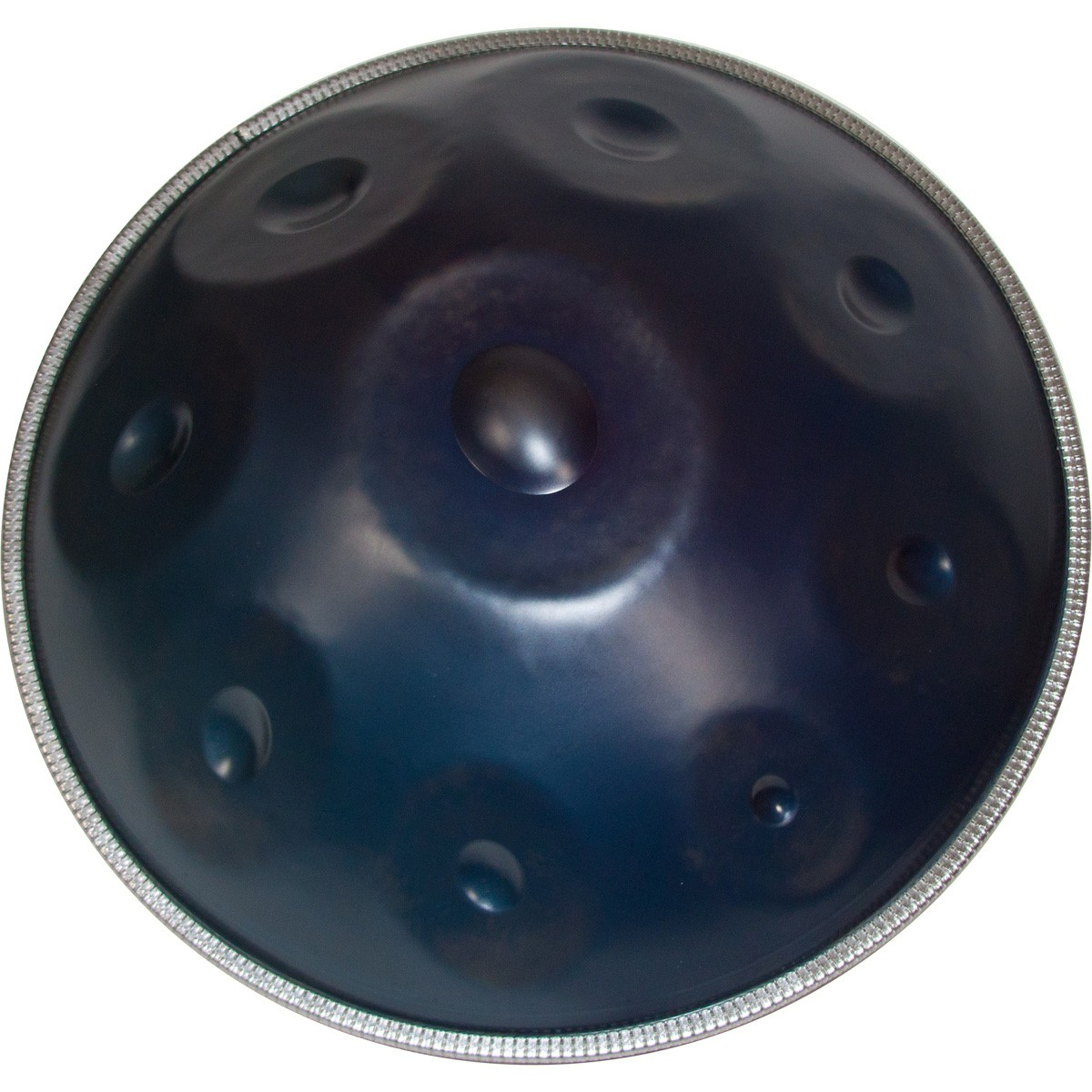 Ancient Future 9-Note Handpan in F Pygmy w/ Case - Blue/Purple