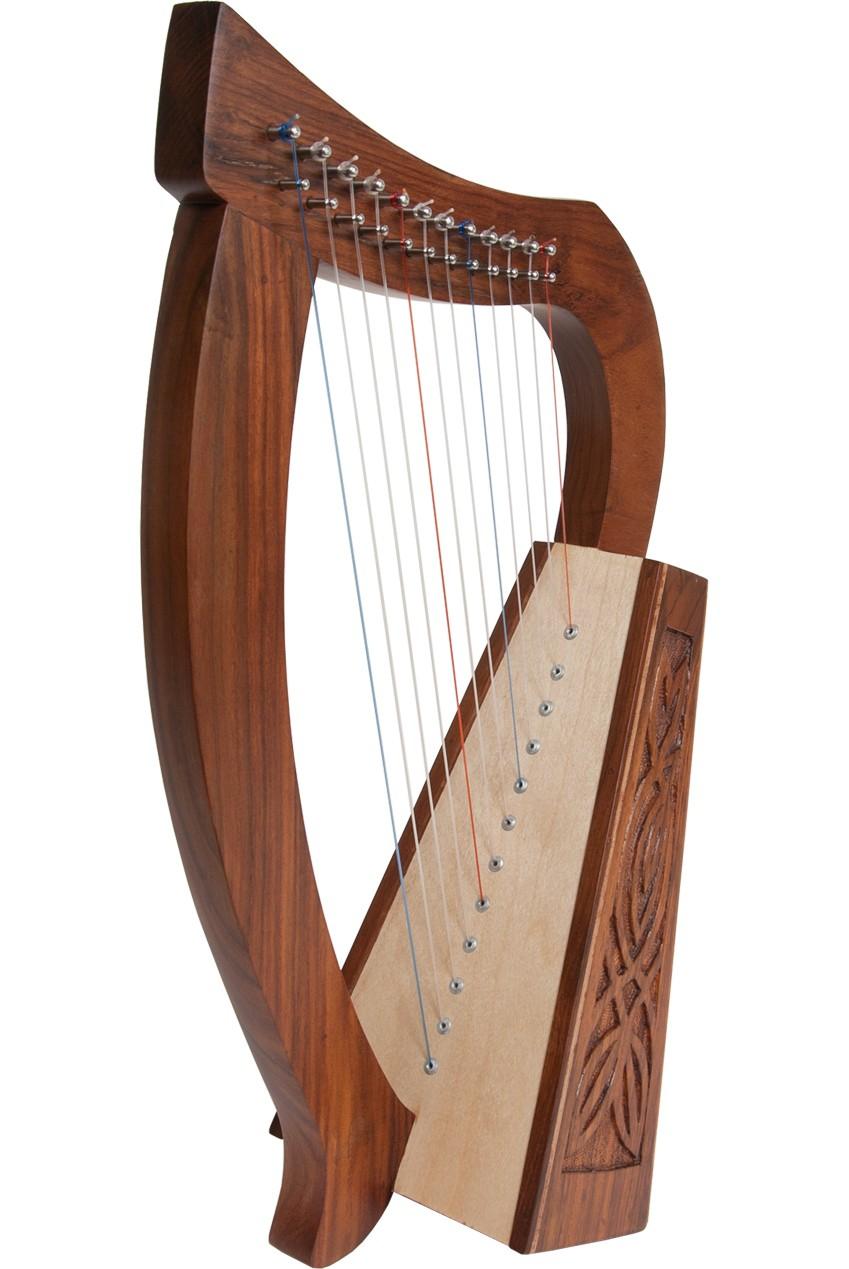 Roosebeck Baby Harp 12-String Knotwork