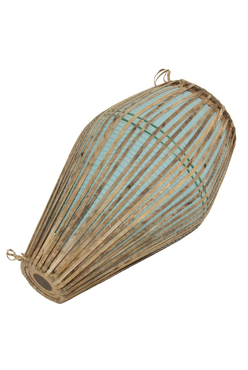 banjira Ceramic Khol Drum - Blue