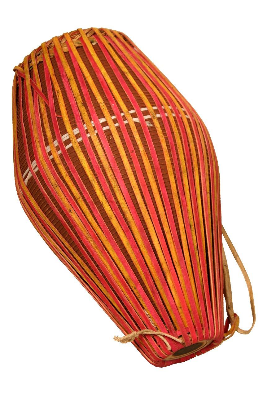 banjira Ceramic Khol Drum - Natural