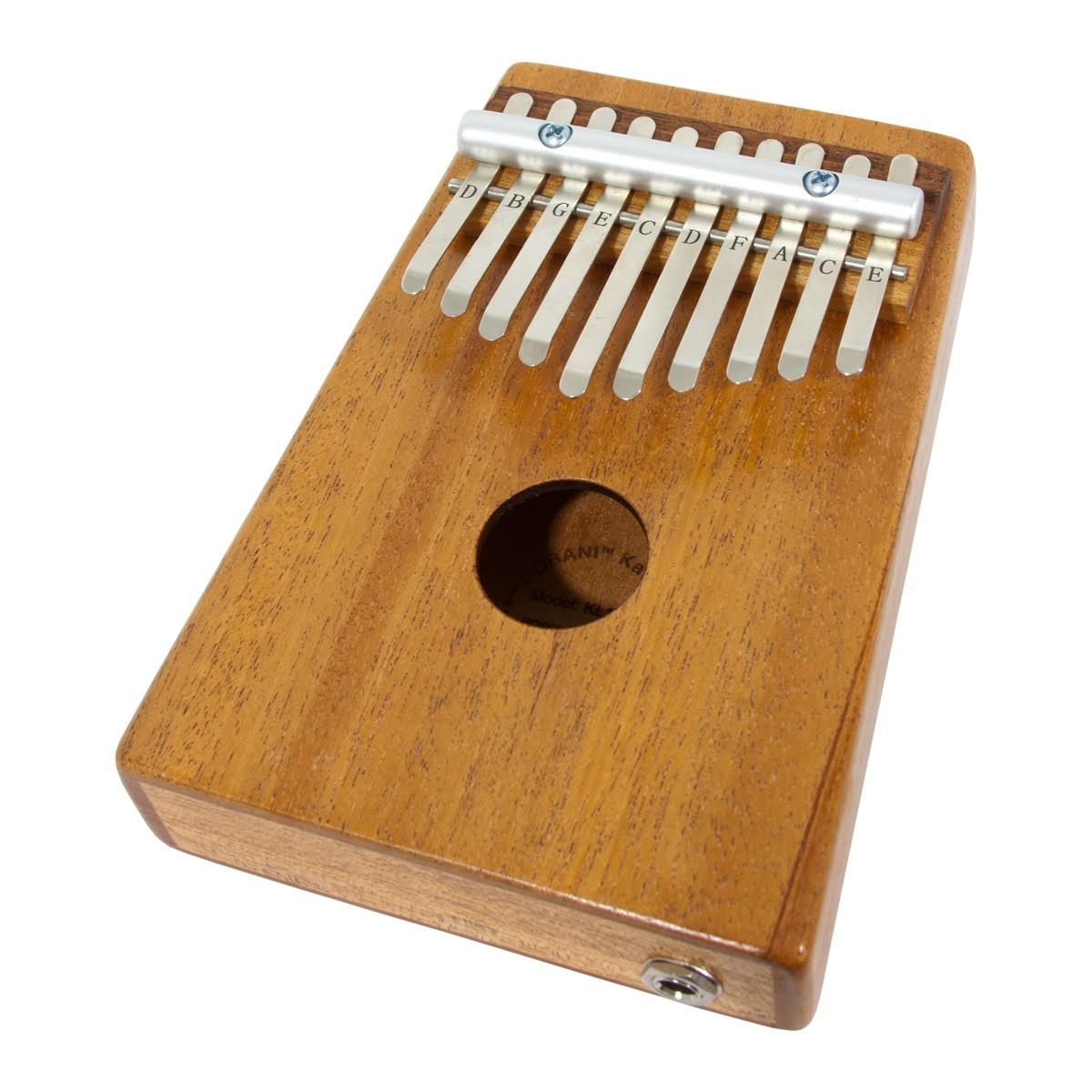 DOBANI 10-Key Kalimba with Pickup - Mahogany