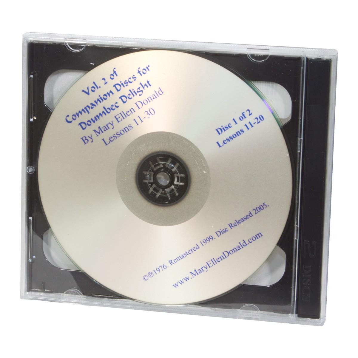 Doumbek Delight CD Volume 2 by Mary Ellen Donald