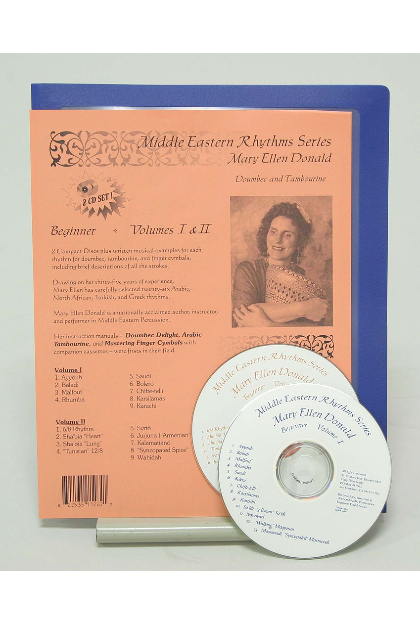 Middle Eastern Rhythms Series Beginner by Mary Ellen Donald