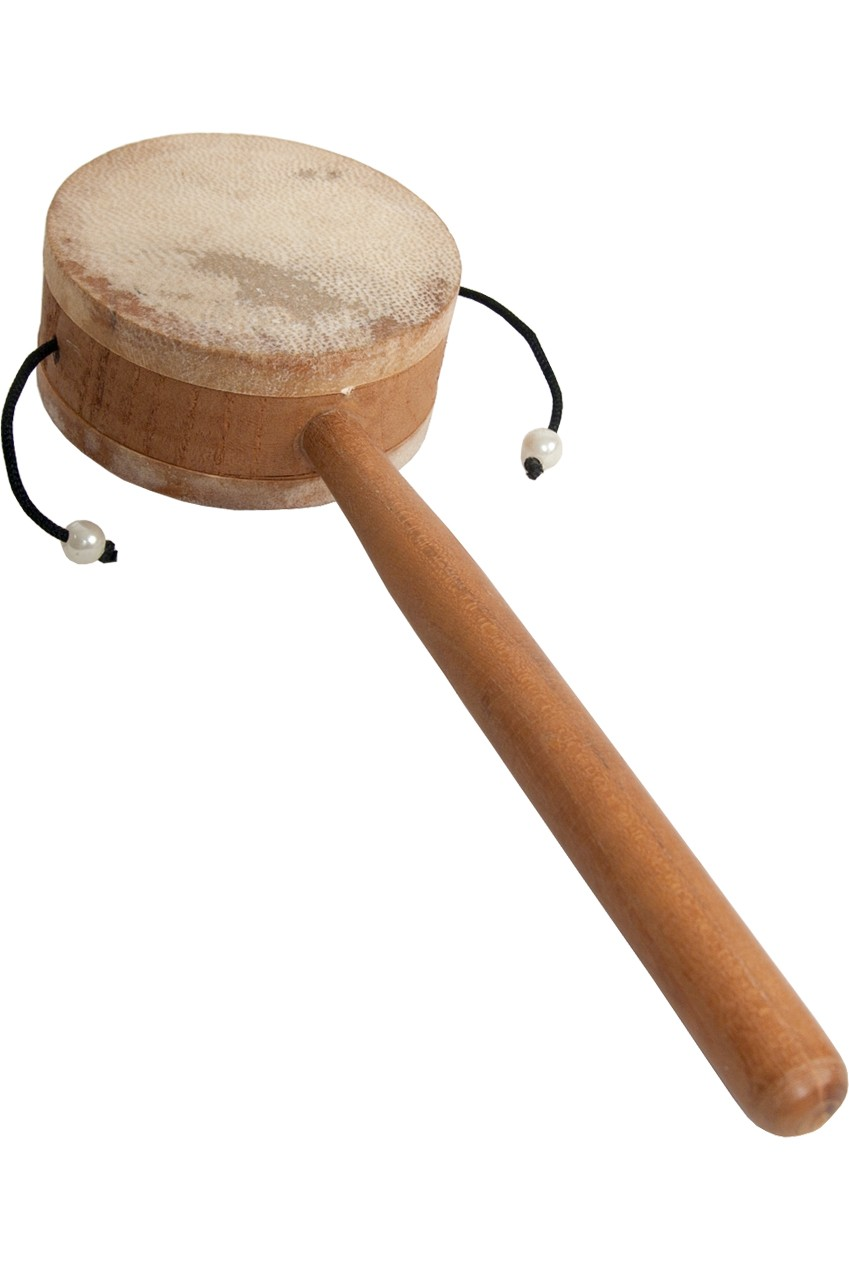 DOBANI Monkey Drum w/ Handle 3.25'
