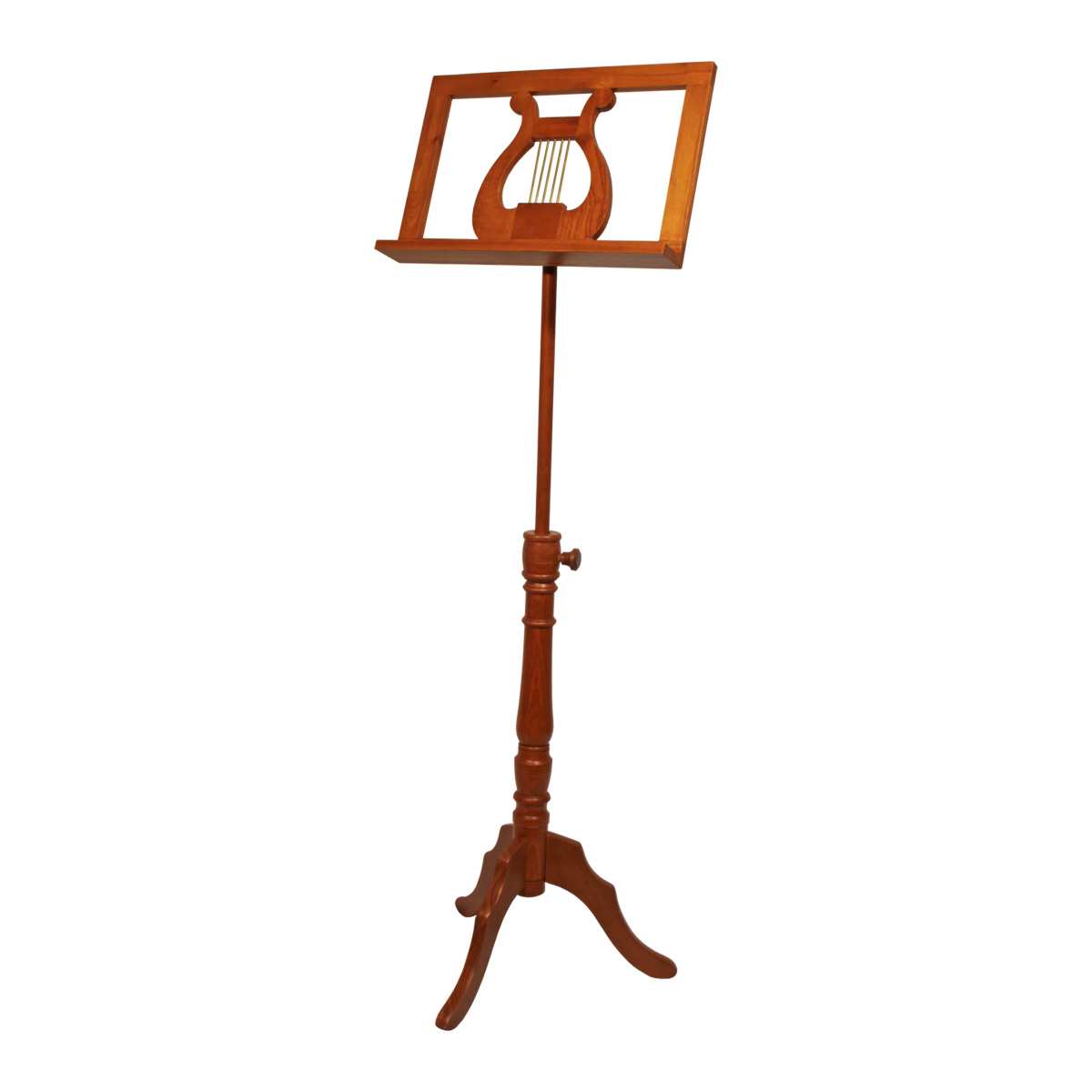 EMS Single Tray Regency Music Stand - Red Cedar