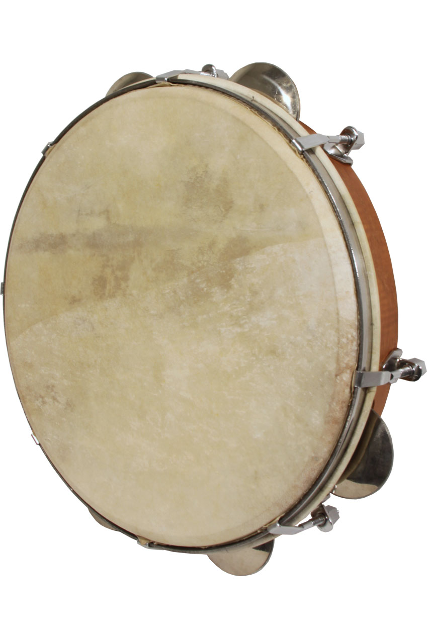 Mid-East Tunable Pandeiro 10-Inch - Red Cedar