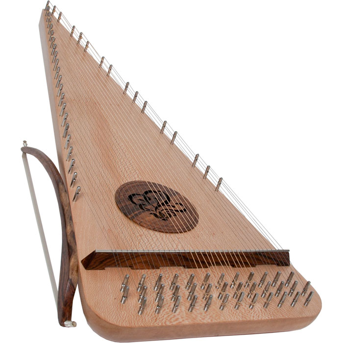 Roosebeck Baritone Rounded Psaltery Left-Handed *Blemished