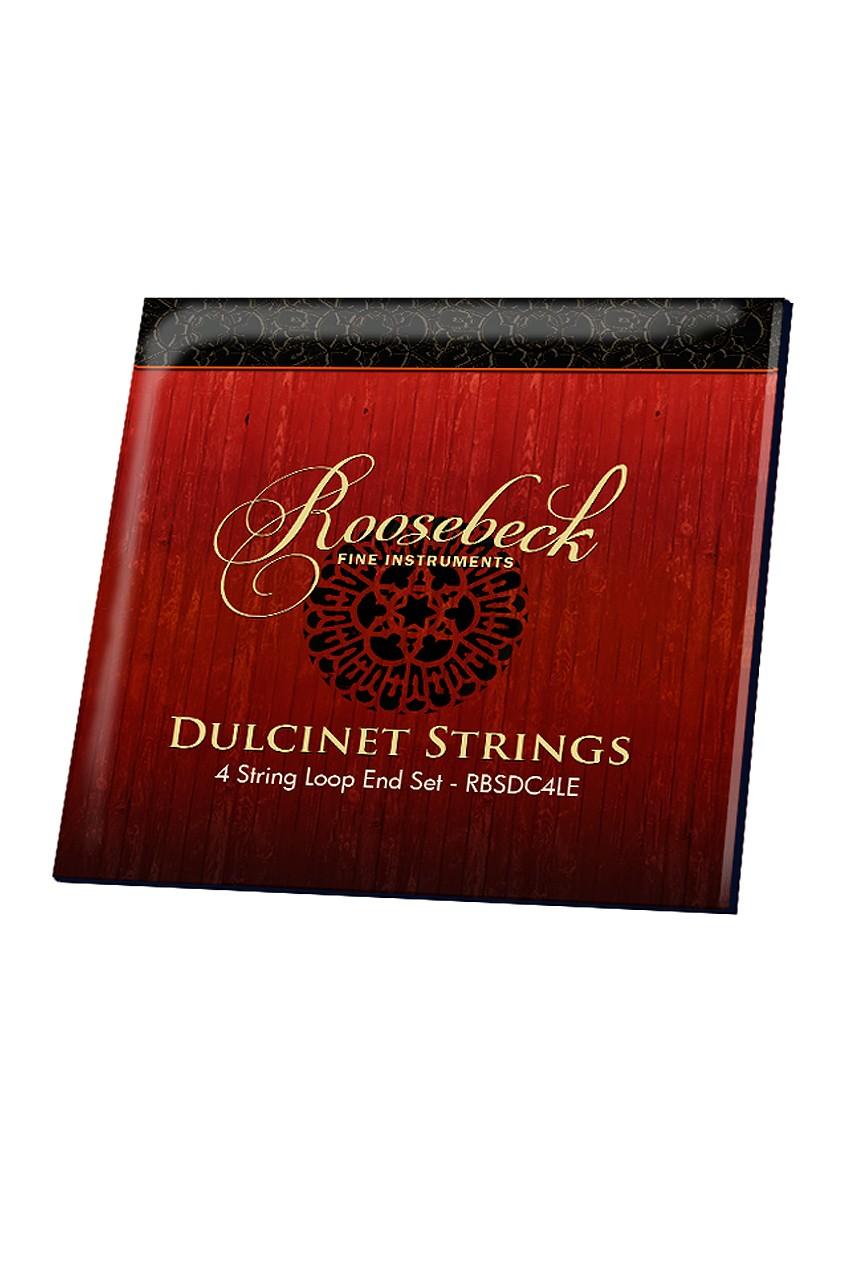 Roosebeck Dulcinet String Set Loop Ends 4-String