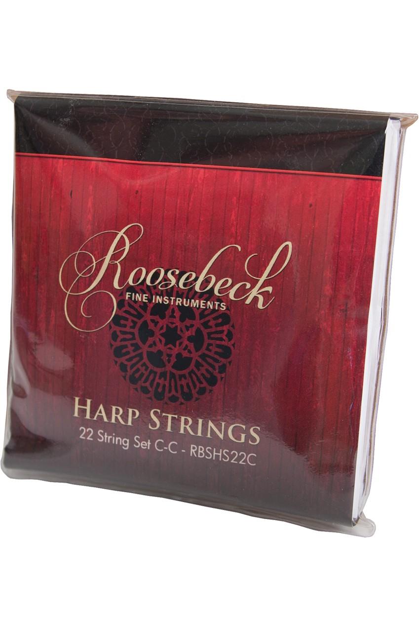 Roosebeck Harp 22-String Set C - C