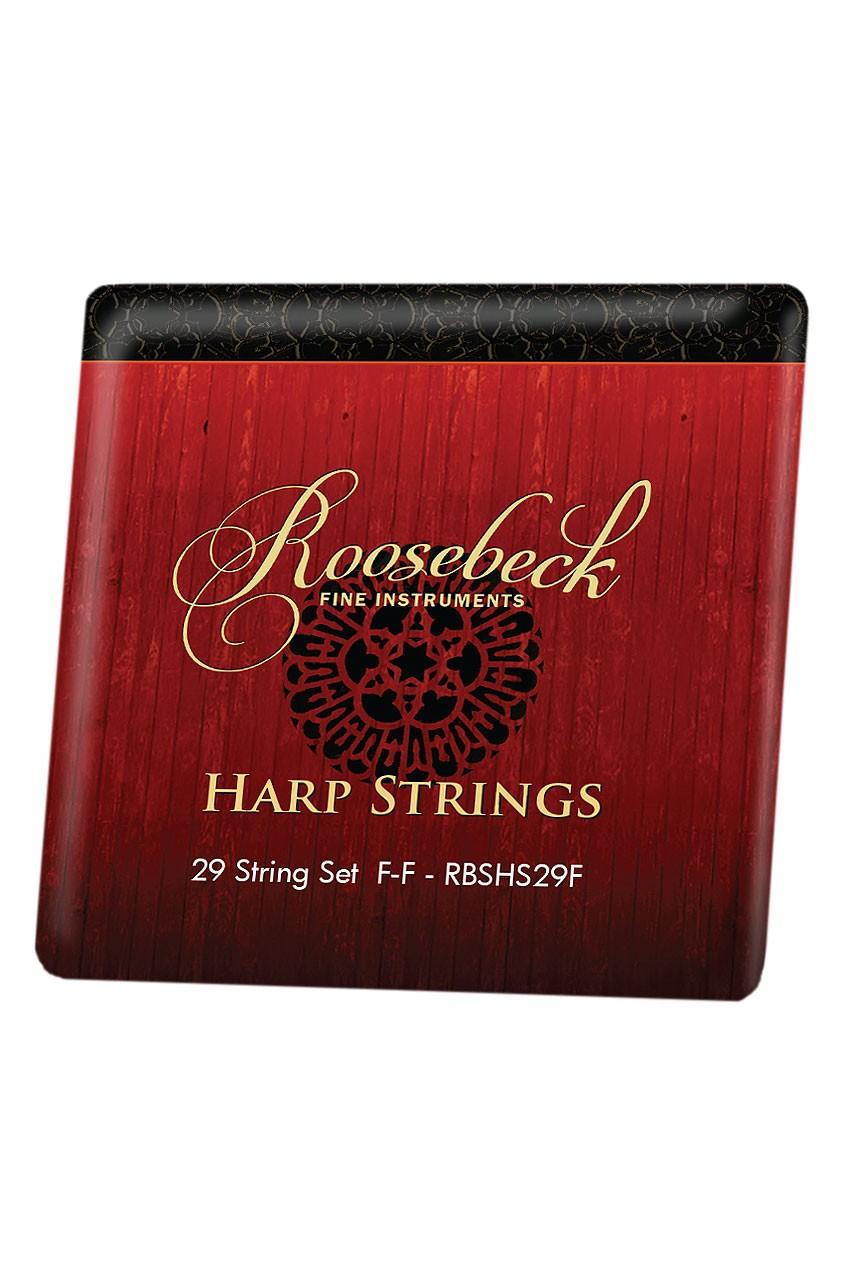 Roosebeck Harp 29-String Set F - F