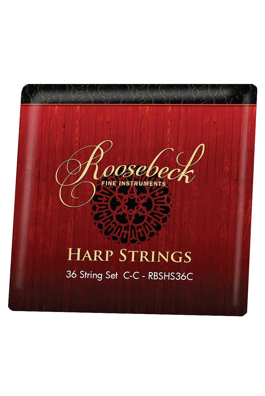 Roosebeck Harp 36-String Set C - C