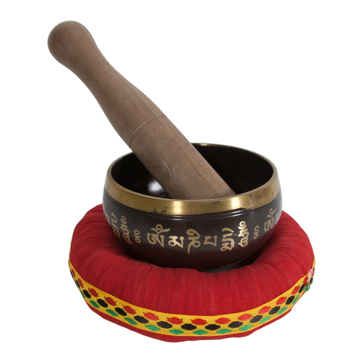 DOBANI Decorated Singing Bowl 3.5'-Buddha