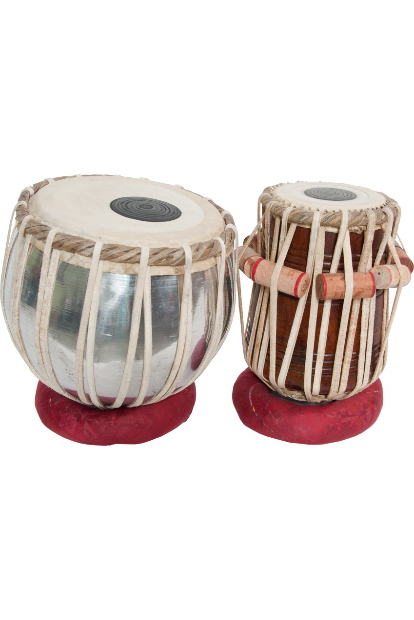 banjira Standard Tabla Set Aluminum Bayan and 5.75' Dayan *Blemished