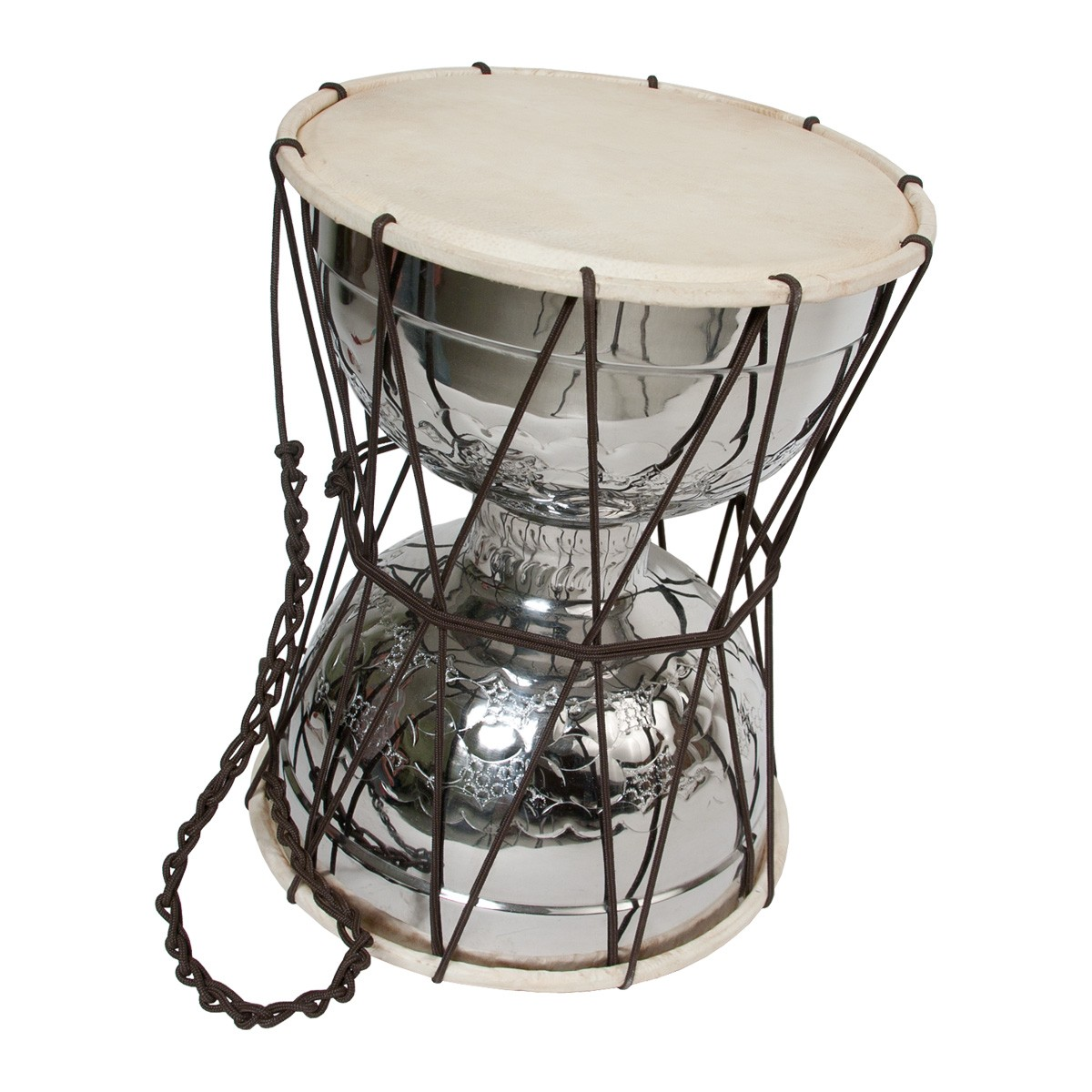 Mid-East Talking Drum w/ Beater 10'x13'