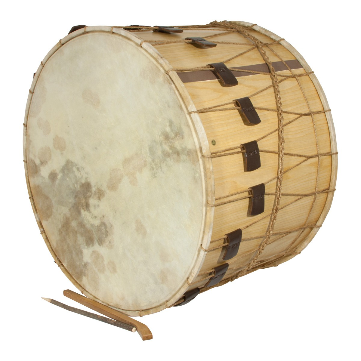Mid-East Rope Tuned Tupan Drum 26'