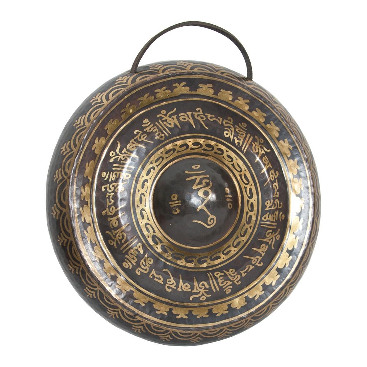 DOBANI Tibetan Prayer Gong w/ Beater 10.5' (27cm)